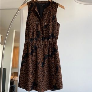 Floral silk dress from Madewell